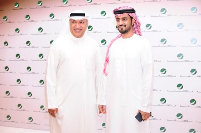 Mr Salem El Hindi with Sanad