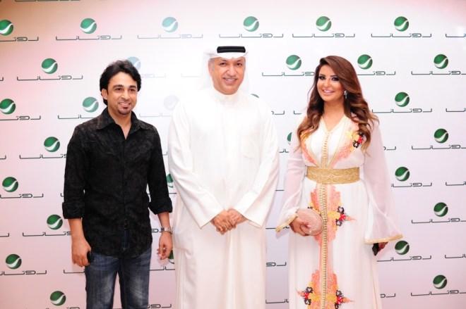Mr Salem, Shatha Hassoun & Adel Al Mokhtar