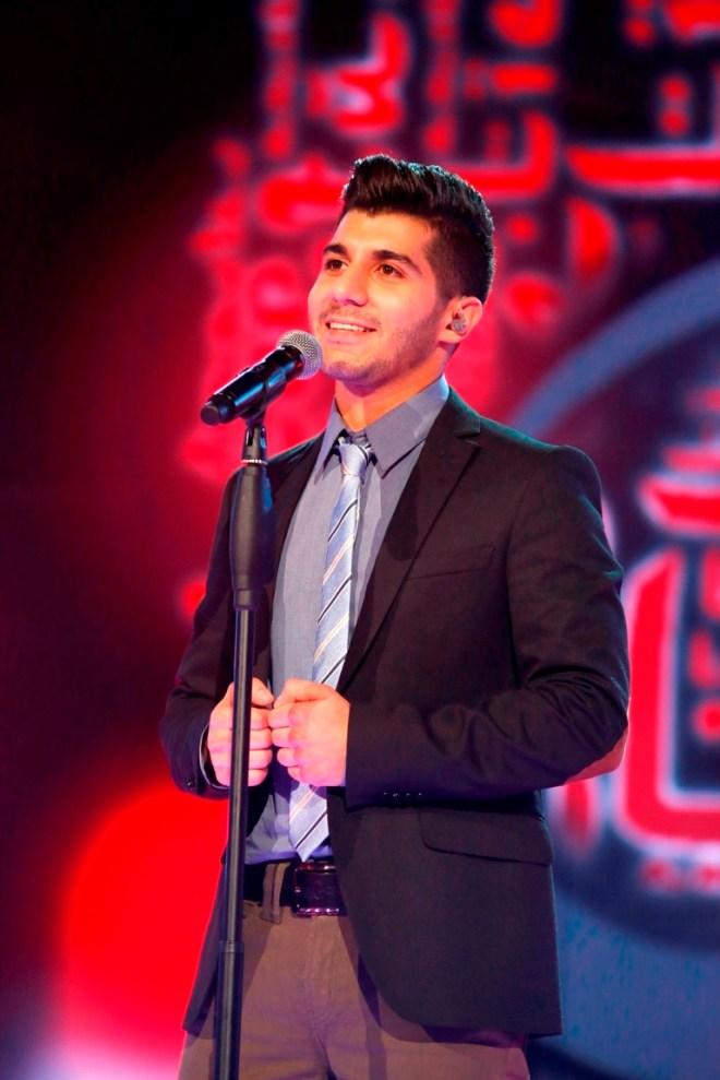 MBC1 & MBC MASR Arab Idol S3 - Live Round - Haitham Khalayli (2)