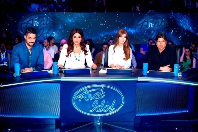 MBC1 & MBC MASR Arab Idol S3 - Live Round - Jury (1)