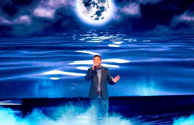MBC1 & MBC MASR Arab Idol S3 - Live Round -  Mohamad Hassan (1)