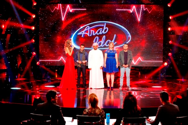 MBC1 & MBC MASR Arab Idol S3 - Live Round -  Results episode - Group Results  (1)