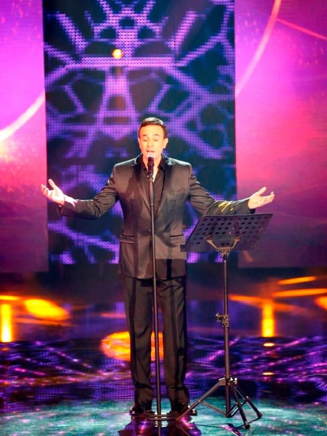 MBC1 & MBC MASR Arab Idol S3 - Live Round -  Results episode- Saber Rubai (3)