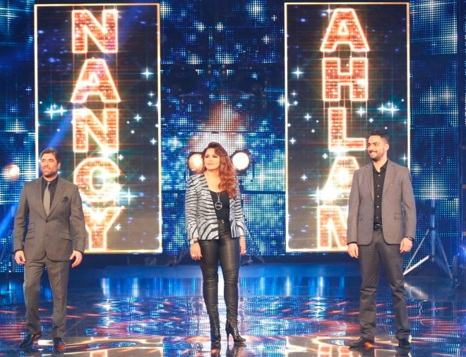 MBC1 & MBC MASR Arab Idol S3 - Live Round -  Results episode -  Jury Entrance