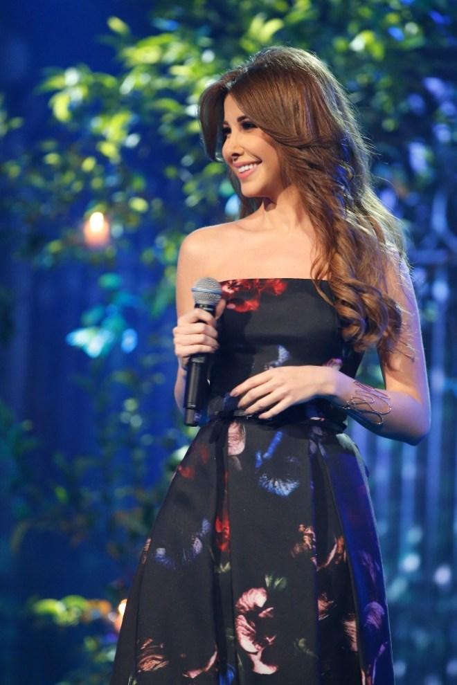 MBC1 & MBC MASR Arab Idol S3 - Live Round -  Results episode - Nancy Ajram (7)