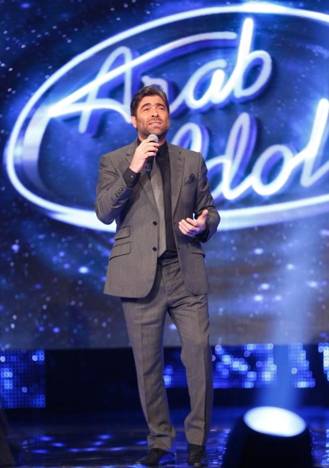 MBC1 & MBC MASR Arab Idol S3 - Live Round -  Results episode - Wael Kfoury