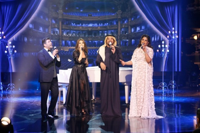 4 - MBC1 & MBC MASR Arab Idol S3 Finale - Hussein Al Jasmi & Jury performance (800x533)