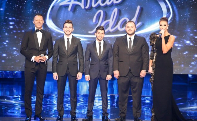 MBC1 & MBC MASR Arab Idol S3 Finale -  the 3 finalists (800x492)