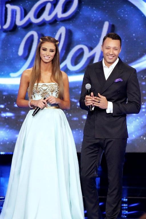 MBC1 & MBC MASR Arab Idol S3 - Live Round - Annabella Hilal & Ahmed Fahmi