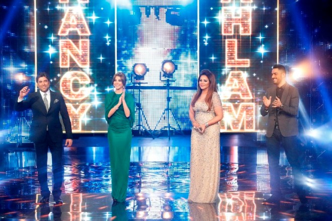 MBC1 & MBC MASR Arab Idol S3 - Live Round - Jury Entrance