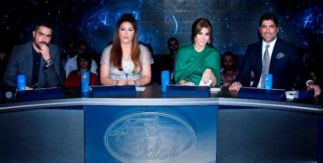 MBC1 & MBC MASR Arab Idol S3 - Live Round - Jury