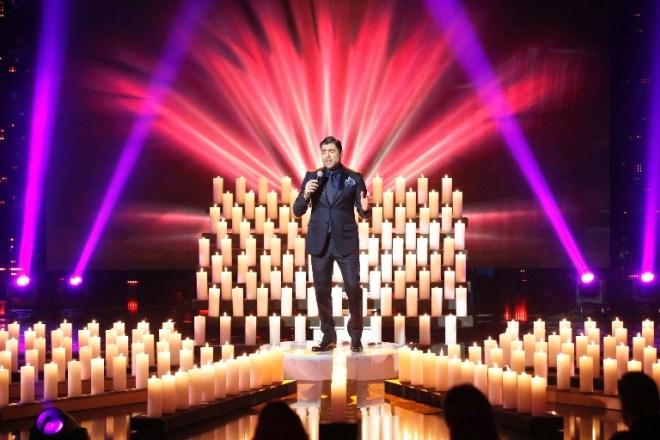 MBC1 & MBC MASR Arab Idol S3 - Live Round - Results Gala - Wael Kfoury (1)