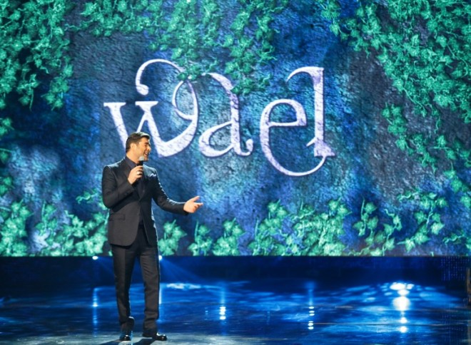 MBC1 & MBC MASR Arab Idol S3 - Live Round - Results Gala - Wael Kfoury (3)