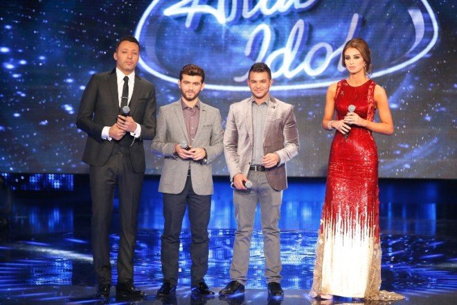 MBC1 & MBC MASR Arab Idol S3 - Results Gala - Ammar Koufi & Mohamed Rashad leave the show