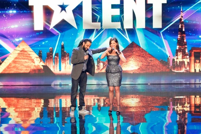 MBC4 & MBC MASR Arabs Got Talent S4- Live 2- Raya Abi Rached and Qusai  (800x533)