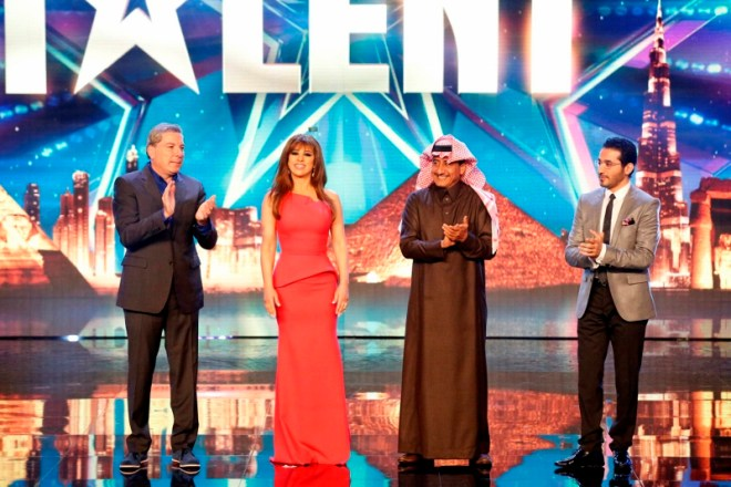 MBC4 & MBC MASR Arabs Got Talent S4 - Live 4- Jury Entrance (800x533)