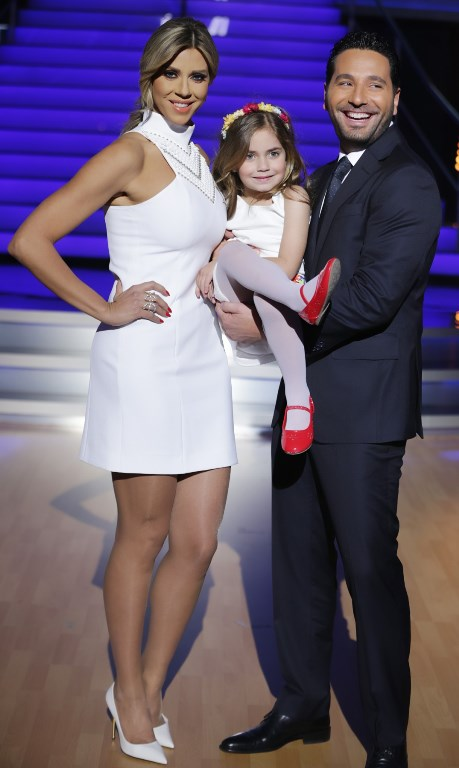 Carla & her daughter and Wissam