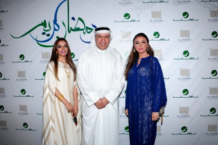 Angham, Balqees & Mr Salem Al Hendi