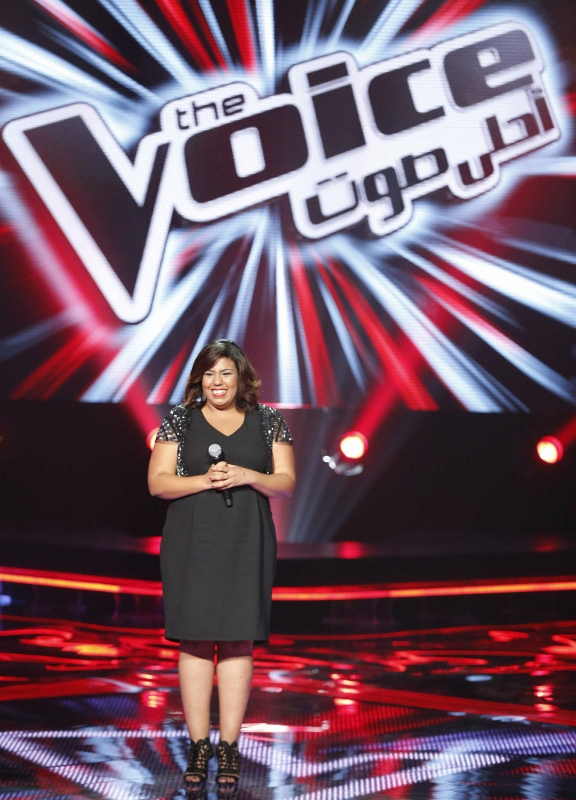 MBC1 & MBC MASR the Voice S3 - Blind 3 - Assi's team - Nayress Ben Gaga (576x800)