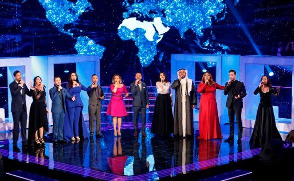 MBC1 & MBC MASR the Voice S3 - Live 1 - 12 contestants