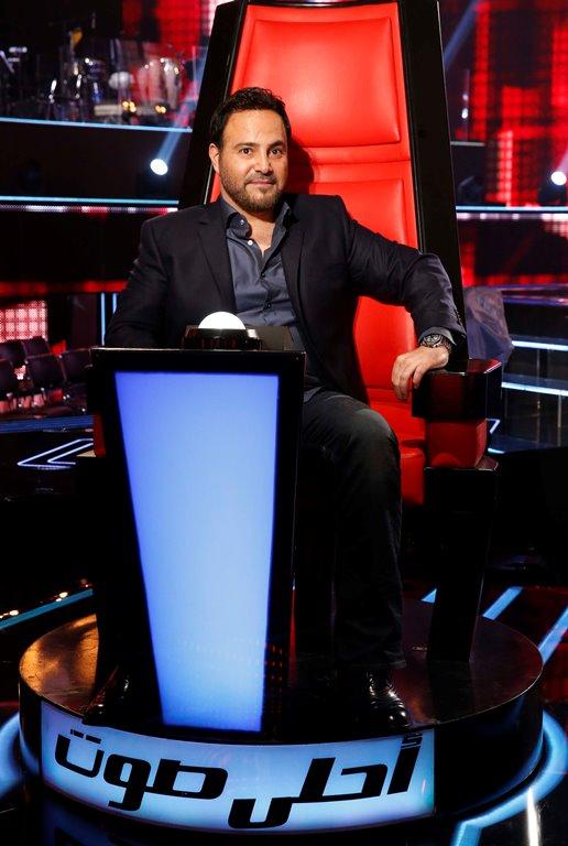 MBC1 & MBC MASR the Voice S3 - Live 1 - Press conference - Assi El Helani
