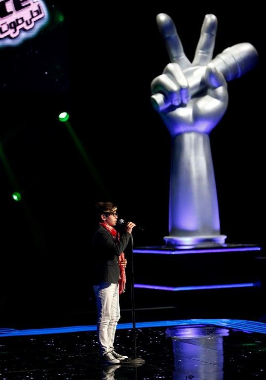 MBC1 & MBC MASR- the Voice Kids- Blind 6- Tamer's team- Ali Al Hadi (3)