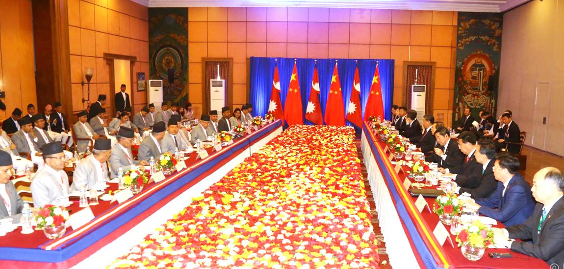 नेपाल र चीनबीच २० समझदारीपत्रमा हस्ताक्षर