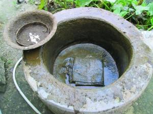 A biogas plant in Sitamarhi, Bihar
