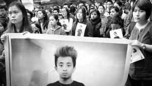 13-02-14 Desh Videsh - Nido Protest