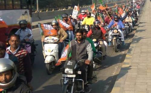 जींद रैली शुरू, थोड़ी देर में पहुंचेंगे अमित शाह, विरोध करने जा रहे अशोक तंवर हिरासत में