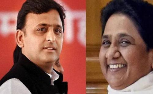 SP-BSP की प्रेस कांफ्रेंस: मायावती ने कहा, गुरु चेले की नींद उड़ने वाली है