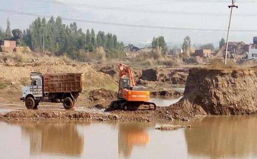 यमुनानगर में फिर से नज़र आया माईनिंग माफिया का कहर