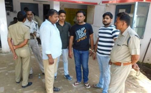हमीरपुर पुलिस के हाथ लगी बड़ी सफलता, सुन्दर गैंग के चार सदस्यों गिरफ्तार