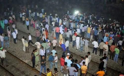 अमृतसर रेल हादसा: रेल ड्राइवर का बड़ा बयान