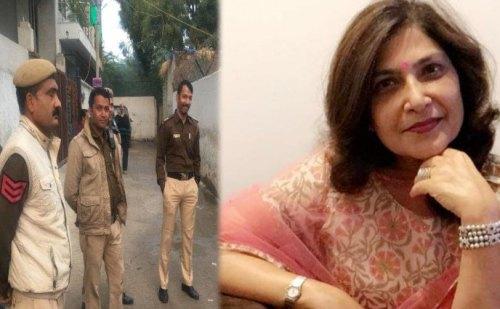 दिल्ली में फैशन डिजाइनर माला लखानी की हत्या