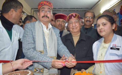 हिमाचल: स्वास्थ्य मंत्री ने पालमपुर अस्पताल में डायलिसिस सुविधा का किया शुभारंभ