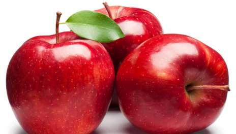 एक सेब में पाए जाते हैं10 करोड़ बैक्टीरिया
