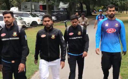 क्राइस्टचर्च शुटआउट के बाद बांग्लादेश और न्यूजीलैंड के बीच किक्रेट मैच रद्द