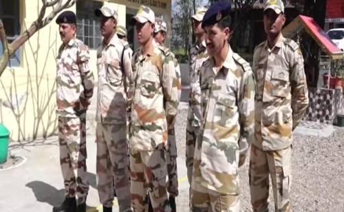 चुनावों के मद्देनजर सुरक्षा व्यवस्था चाक चौबंद, ऊना पहुंची अर्द्धसैनिक बल की एक टुकड़ी