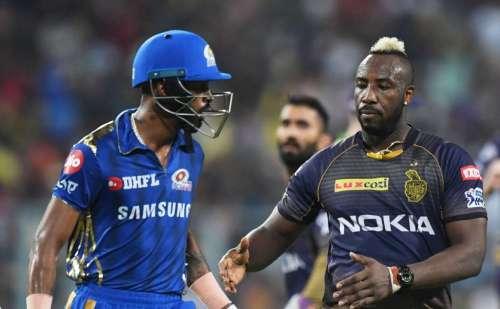 हार्दिक पंड्या की विस्फोटक बल्लेबाजी लेकिन कोलकाता ने मुंबई इंडियंस को 34 रनों से हरा कर जीता मैच
