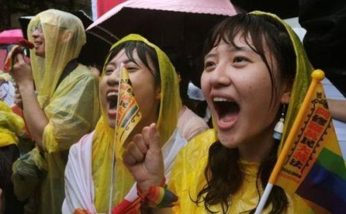समलैंगिक विवाह को मान्यता देने वाला एशिया का पहला देश बना ताइवान