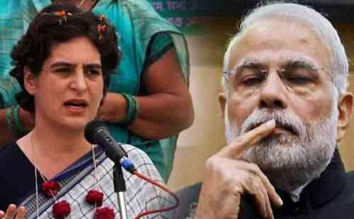 आज पीएम मोदी के संसदीय क्षेत्र वाराणसी में चुनावी हुंकार भरेगी प्रियंका गांधी