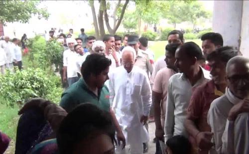 पलवल में मतदान को लेकर लोगों में भारी उत्साह