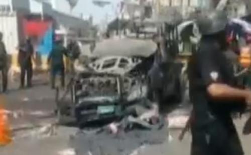 पाकिस्तान में हुआ आत्मघाती बम विस्फोट, 3 लोगों की मौत
