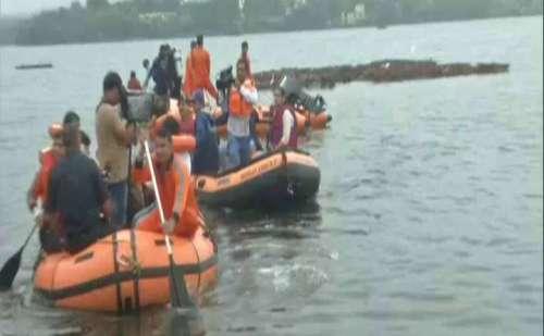 भोपाल: गणपति विसर्जन के दौरान नाव पलटने से 11 की मौत