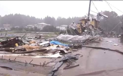 जापान में 'हगिबीस' तूफान का कहर, अब तक 11 लोगों की मौत