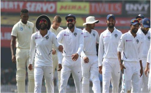 भारत ने पारी और 202 रन से जीता मैच, दक्षिण अफ्रीका को 3-0 से हराया