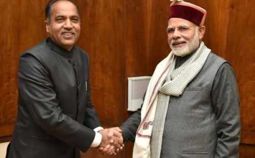 सीएम जयराम ठाकुर ने प्रधानमंत्री नरेंद्र मोदी से की मुलाकात, कई मुद्दो पर हुई चर्चा