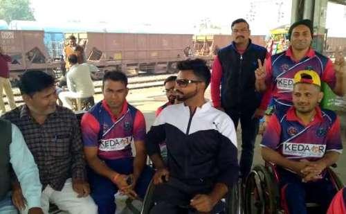 लुधियाना के लिए रवाना हुई उत्तराखंड व्हील चेयर क्रिकेट एसोसिएशन की टीम