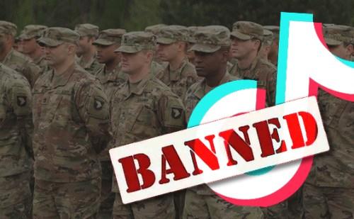 अमेरिकी आर्मी ने बैन किया टिकटॉक,बताया नेशनल सिक्योरिटी के लिए खतरा